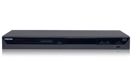 Toshiba BDX 2100 KE Blu Ray Player (3D Virtual Surround Sound, DTS kompatibel) schwarz