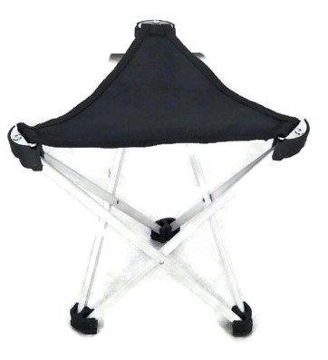 3legschair Dreibeinhocker, 3-Bein-Hocker Camping-Stuhl Dreibein-Hocker 28cm Sitzhöhe handliche 275g leicht, faltbar, Leichtaluminium