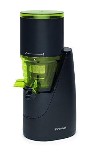Brandt SLJ200 - Exprimidor (Exprimidor, Negro, Verde, 67 RPM, 1 L, 200 W, 220-240)