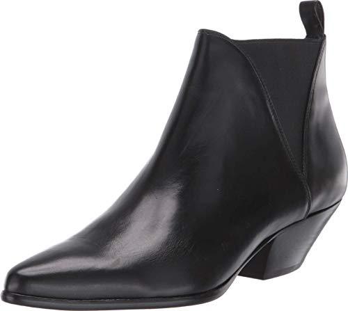 Diane von Furstenberg Nadie Black Leather 7.5 M