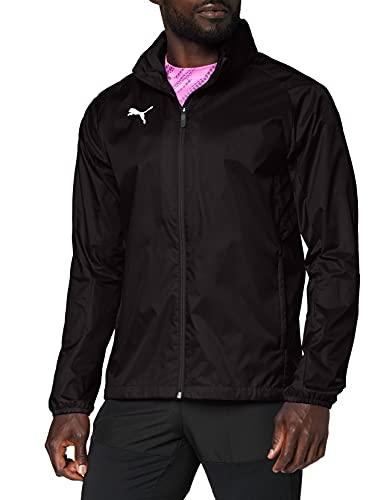 PUMA Herren LIGA Training Rain Jacket Core Black White, XL