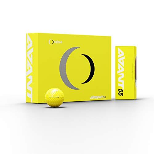 ONCORE GOLF - Avant 55 Value Golf Balls | Yellow (One Dozen | 12 Premium Golf Balls) – Award Winning Performance