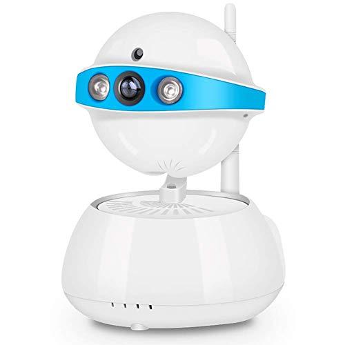WYJW Überwachungskamera, drahtlose Kamera, IP-Kamera mit Nachtsicht, Zwei-Wege-Audio, WiFi-Innenkamera für Haustierbaby, Fernüberwachungsmonitor (720P)