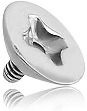 INOKI - Tornillo de Acero para Micro-dérmica 1.6mm
