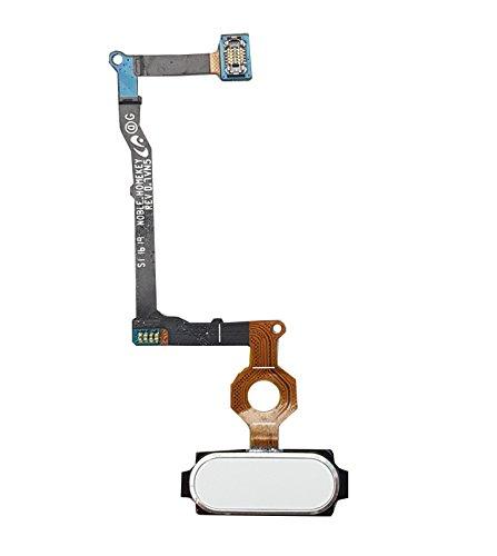 Smartex Home Button Weiß kompatibel mit Samsung Galaxy Note 5 White (N9200 N920F)