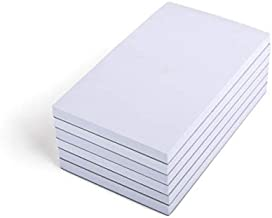Mintra Office Memo Pads - Note Pad Paper For Taking Notes And Reminders, Work, Business, Desk, College, School, Organization, Planning (Scratch Pads 6pk - 3x5)