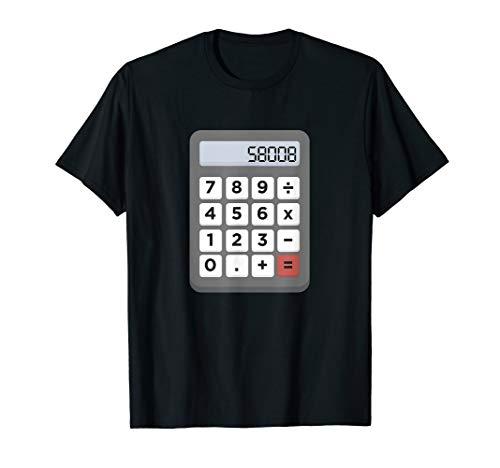 Boobs Taschenrechner Schule Mathe T-Shirt