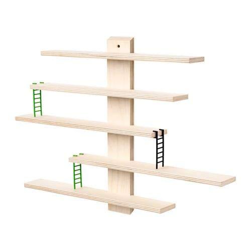 Ikea LUSTIGT - Estantería de pared (37 x 37 cm)