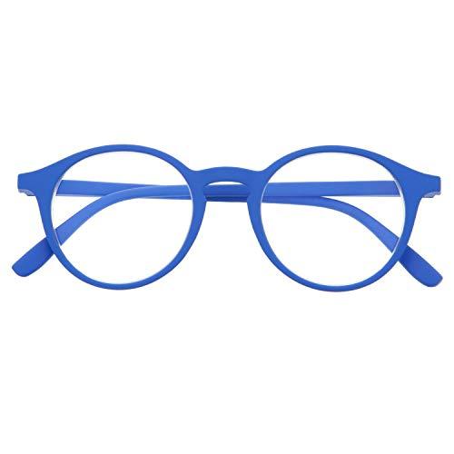 DIDINSKY Gafas de Presbicia con Filtro Anti Luz Azul para Ordenador. Gafas Graduadas de Lectura para Hombre y Mujer con Cristales Anti-reflejantes. Klein +1.0 – UFFIZI