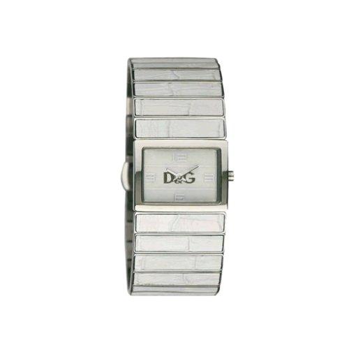 Dolce & Gabbana DW 0082 - Reloj analógico de Cuarzo para Mujer con Correa de plástico, Color Multicolor