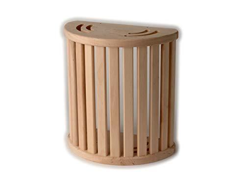 Saunalampe Saunaleuchte Holzblendschirm Sauna Lampe Holzschirm Erle