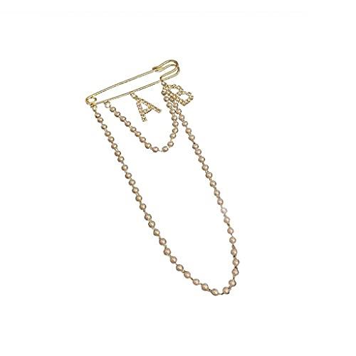 RKL Broches para Mujeres, Broches Y Pines con Rhinestones, Broche Joyas para Damas Vestido De Novia Hat Backpacks Crafts Accesorios (tamaño : 17.3 × 7.5cm)