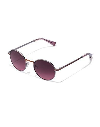 HAWKERS MOMA Gafas de Sol, Vino/Lila, One Size Unisex Adulto
