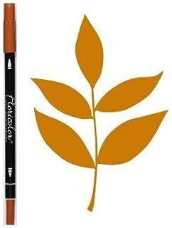 Florilèges Design FD105 Marqueur Scrapbooking Feutre Encreur Floricolor Cannelle/Orange