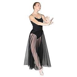 Danzcue Long Chiffon Skirt