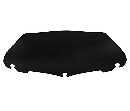 7 Inches Motorcycle Wave Windshield Windscreen For Harley Electra Street Glide Touring Bike Black 7' 14-21
