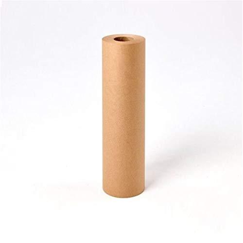 Bruin Muur Gemonteerd Kraft Papier Roll, Studio Wandopknoping Roller Papier, 100% Gerecycled Materialen, Inpakpapier, DIY Gift Wrapping, Voedsel Verpakking 45cm/80GRollpaper