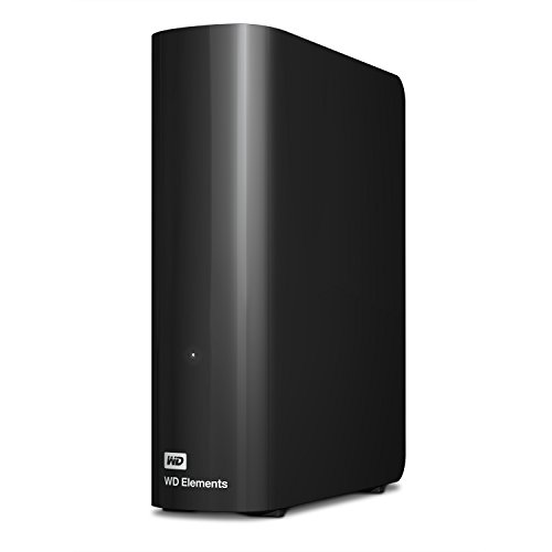 WD Elements - Disco duro externo de sobremesa de 4 TB con USB 3.0, color negro