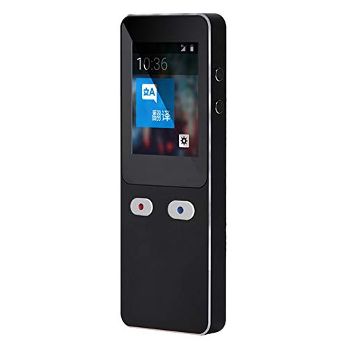 Translator Device Adelaice 2.4 Inch Screen 5 Million Pixel Camera Built-in 1200mah Battery Compact and Exquisite for Daily Dating, Overseas Shopping, Overseas Travel, Study and Work