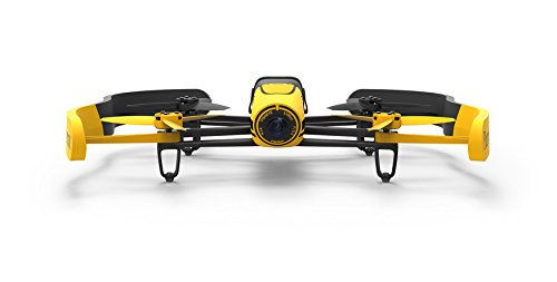 Parrot Bebop Quadcopter Drone with 14 MP Full HD 1080p Wide-Angle Camera (Yellow)