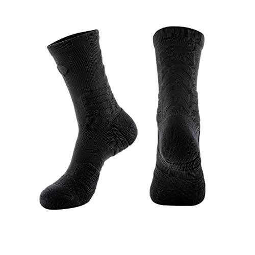 HMOS Calcetines de ciclismo Calcetines de baloncesto Hombres y mujeres Calcetines deportivos Profesionales Ejecutar calcetines Elite Sport Socks Men