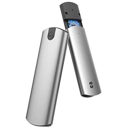 TDBT - Carcasa SSD M.2 SATA+NVMe sin herramientas, 10 Gbps USB-C a PCIe NVMe y SATA M.2 adaptador de disco duro, unidad M.2 a USB-C...