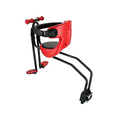 RVTYR Asiento de bicicleta de bebé de lujo para niños de seguridad con asiento trasero rojo