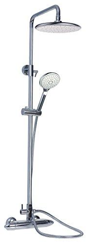 BOET 45430/C Mezclador termostático ducha con barra vista Termofeel, Cromado