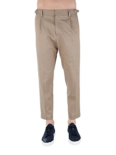 PAOLO PECORA B111 0348 Pantaloni Uomo Beige 52