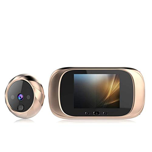 Ruixinbc videobel, draadloos, met camera, huisbel, met accu en transformator, infrarood deurintercomsysteem, nachtzicht