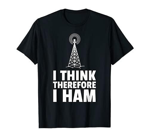 Jamón Radio Amateur Radio Camiseta