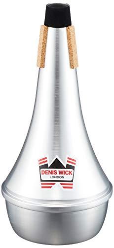 Denis Wick Straight demper voor de posheining Straight jeans (recht been) zilver