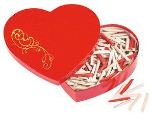 Historia Liebes-Geschenk: Love-Heart - Herzbox - der Liebesbeweis mit Überraschung (Jeder Tag - Neue Botschaft) zum Valentinstag