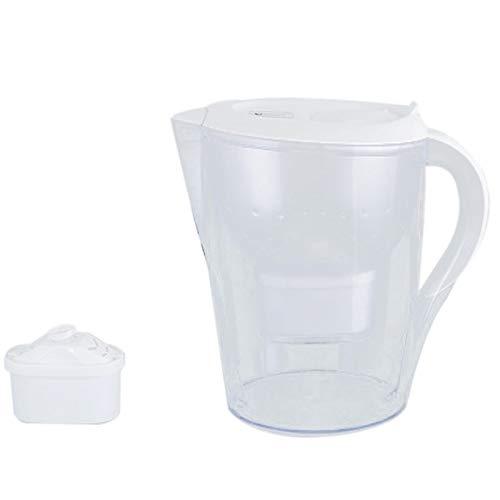 Gaoominy Blanco Hogar Directo Bebida Neto Hervidor de Agua Grifo de Cocina Grifo Purificador de Agua Portátil de Carbono Activado Tazas Filtro 3.5L