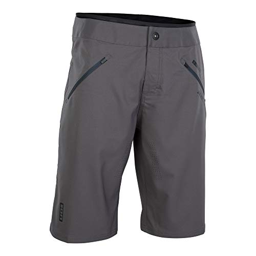 Ion Traze Plus Fahrrad Short Hose kurz (Inkl. Innenhose) grau 2021: Größe: L (34)