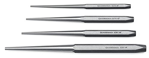 GEARWRENCH 4 Pc. Long Taper Punch Set - 82307 for 15.79