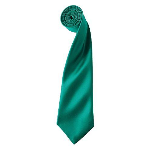 Premier Tie - Corbata Lisa satinada...