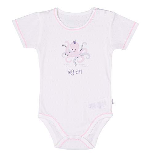 Sevira Kids - Body bébé fille manches courtes, Poulpy