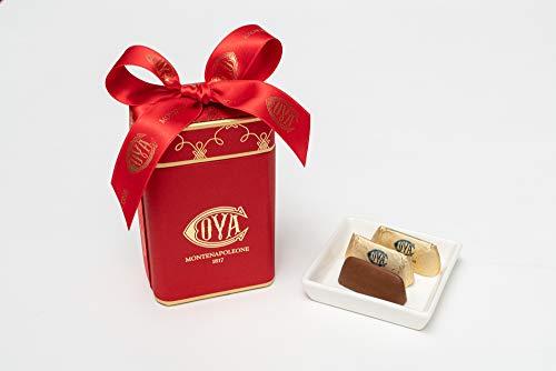 COVA MONTENAPOLEONE 1817(コヴァ モンテナポレオーネ) ジャンドゥイオッティ レッドボックス チョコレート 母の日 父の日 贈答用 お礼 ギフト お菓子 高級 手提げ付き 150g