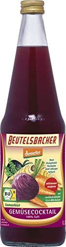 Beutelsbacher Bio Gemüsecocktail ms samenfest Pastinake (6 x 700 ml)