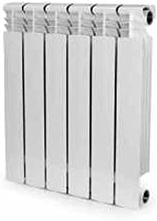 Aluminum Heating Radiator, Convector, 6 Section, Hydronic