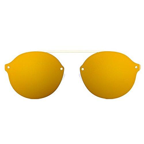Maltessa Verona Gafas de sol, Dorado/Gold, 52 Unisex