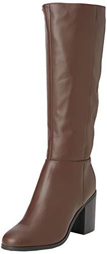 New Look Damen Wide Foot Dapper Hohe Stiefel, Braun (Mid Brown 24), 36 EU