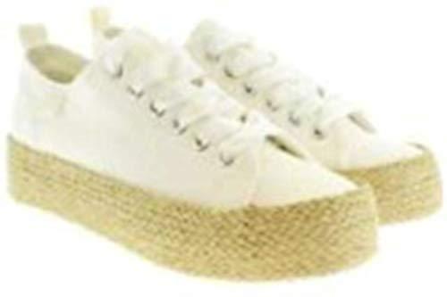 Walk in Pitas ADA - Zapatillas de Cuello bajo para Mujer, Color Blanco (37 EU)