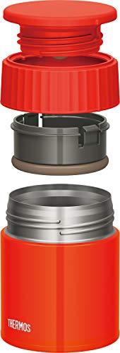 サーモス(THERMOS)保温ランチジャートマト400ml真空断熱スープジャーJBQ-401TOM