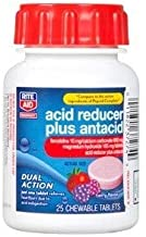 Rite Aid Pharmacy Acid Reducer Complete, Chewable Tablets, Berry Flavor, 25 Tablets