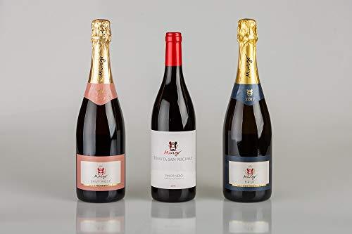Trittico di 3 bottiglie cantina Murgo | Brut Rosè, Brut, Pinot Nero | Sicilia