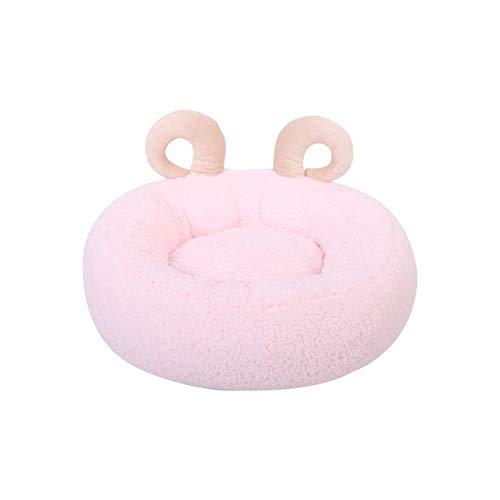 JT- Gato Nido Nido Cuatro Estaciones del Perro casero Pequeño Universal de Invierno Fuentes del Gato Caliente Duradero (Color : Pink)