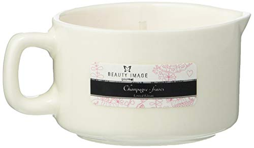 Beauty Image Strawberry Champagne Hot Oil Body Massage Candle