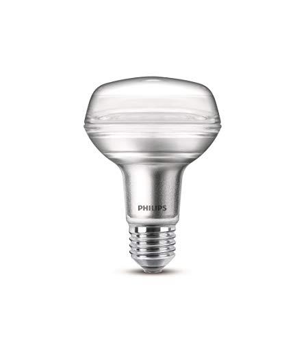 Philips LEDclassic Lampe, ersetzt 100W, E27, R80, Warmweiß (2700 Kelvin), 735 Lumen, Reflektor